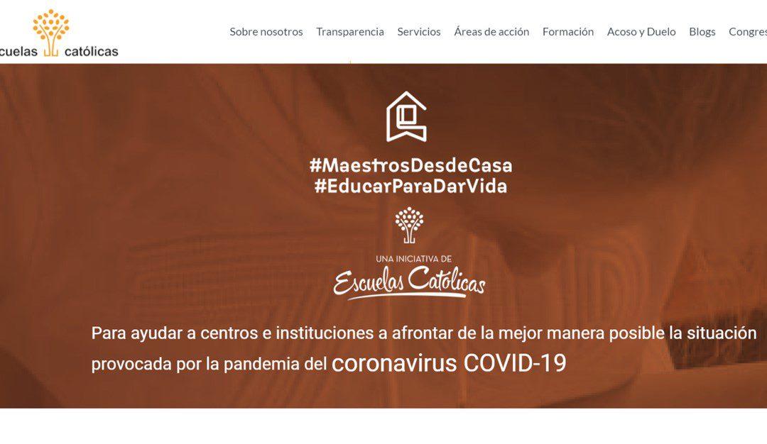 Teledocencia y Coronavirus. La propuesta de Escuelas Católicas (España)